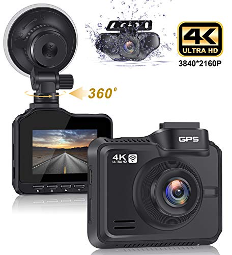 Lifechaser Dual Dash Cam 4K+1080P Front and Rear Car ...